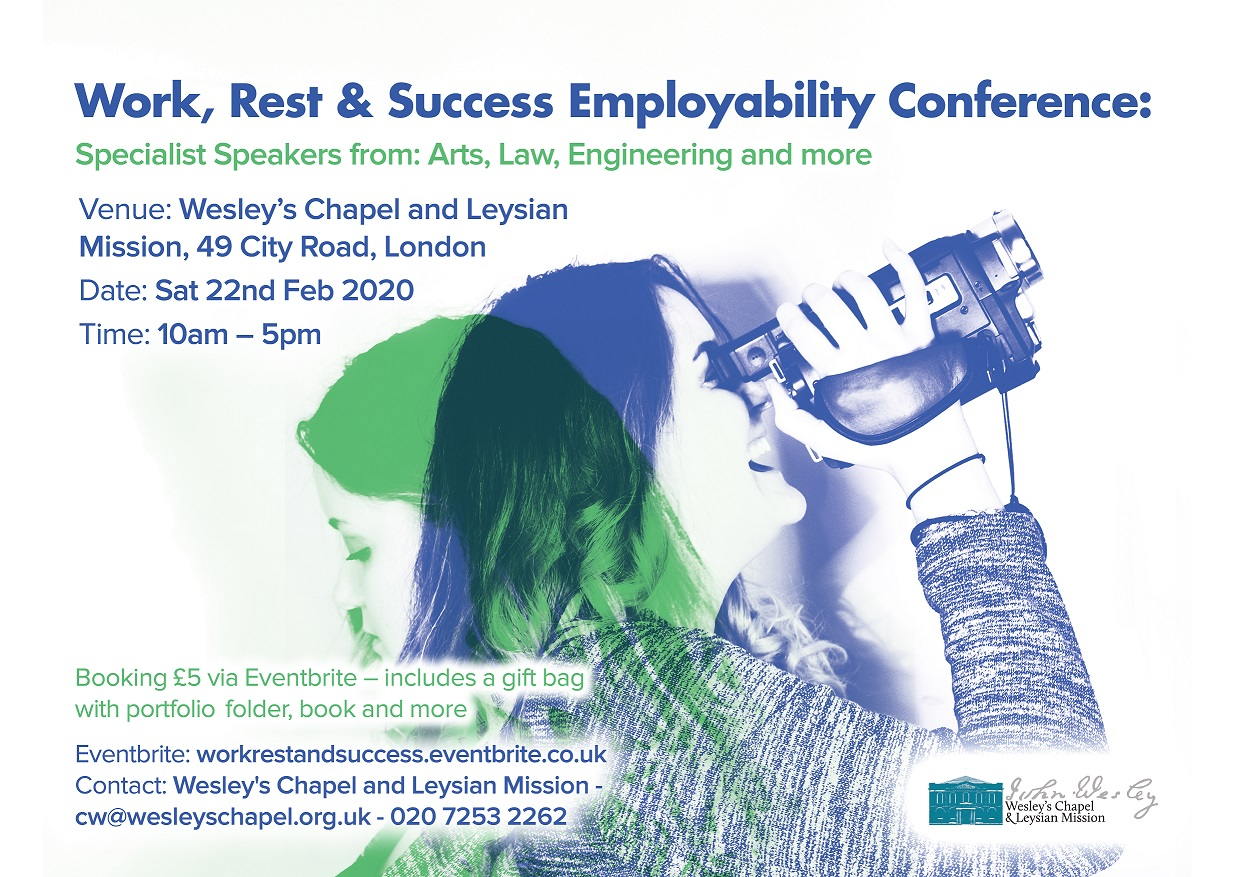 Sat 22 Feb - Work, Rest and Success Employability Conference